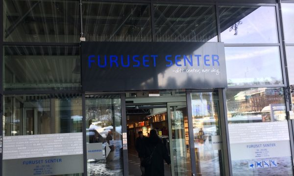 Inngang til Furuset Senter