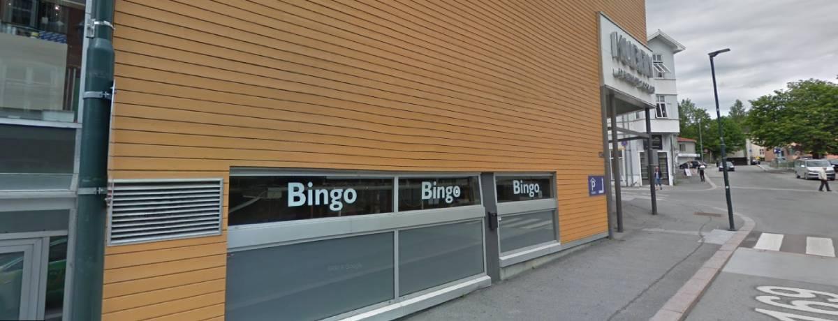 Inngang til Hønefoss Bingo