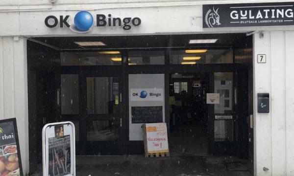 Inngang til Lambertseter Bingo